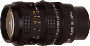 CCTVレンズ SPACECOM (スペース) S6X11-1.4-II ズームレンズ 焦点距離 11.5-69mm 2/3