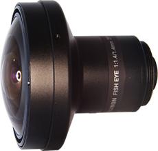 CCTVレンズ フジノン(FUJINON) DF1.4HC-L1 魚眼 1.4 mm 1/2