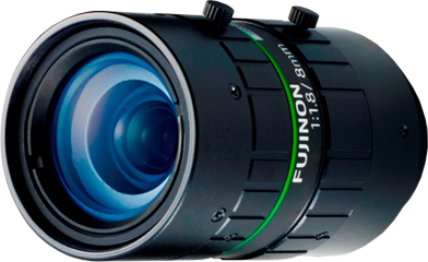 CCTVレンズ フジノン(FUJINON) HF818-12M 12メガ 焦点距離 8mm Cマウント CCTVレンズ