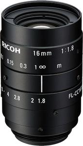 CCTVレンズ RICOH(リコー) FL-CC1618-5MX 5メガピクセル対応(2/3
