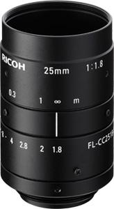 CCTVレンズ RICOH(リコー) FL-CC2518-5MX 5メガピクセル対応(2/3