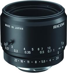 CCTVレンズ RICOH(リコー) FL-YFL5028 ラインセンサーカメラ用レンズ(Fマウント)