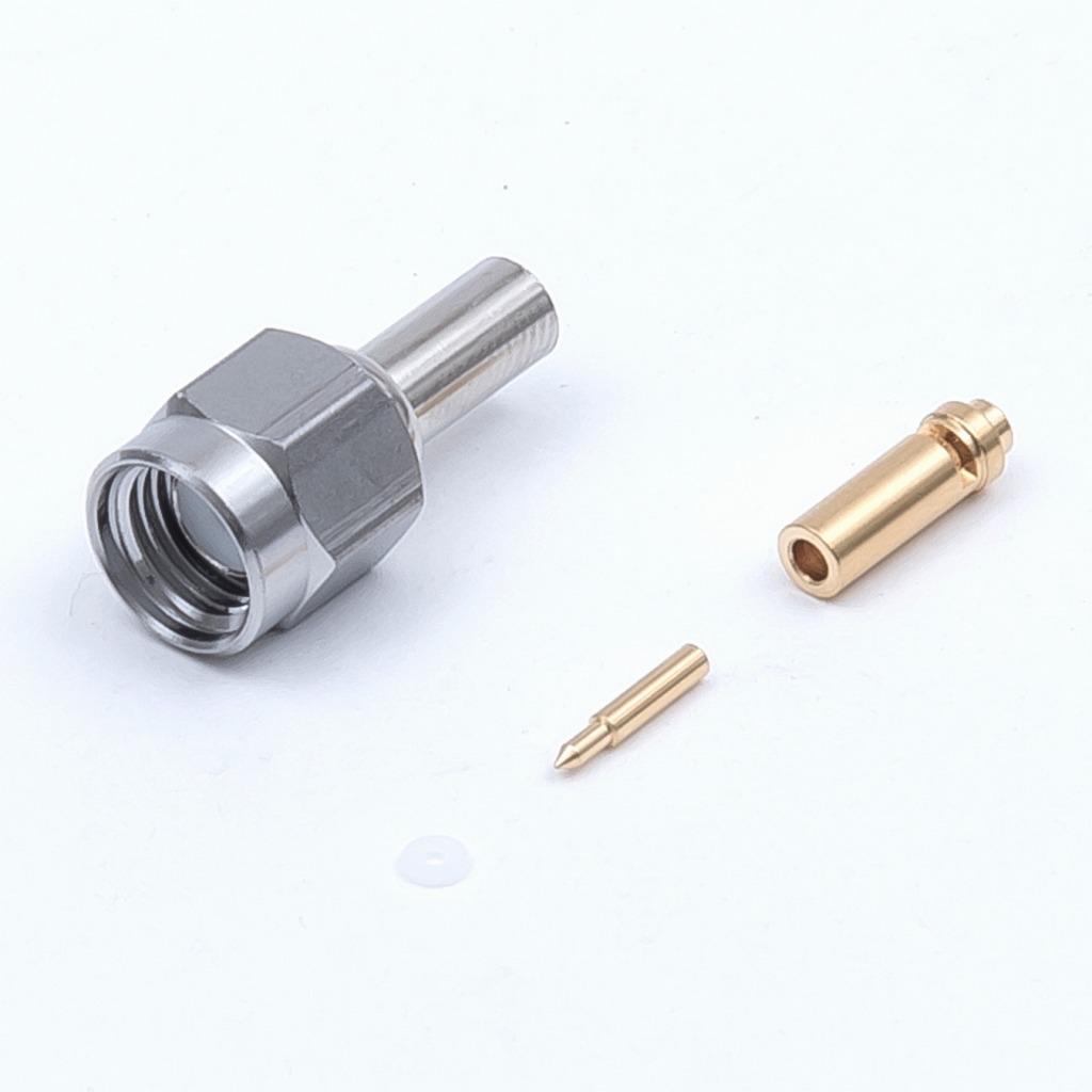 トーコネ(東洋コネクター)SMA型プラグ(圧着タイプ) SMAP-0.8A 10個セット