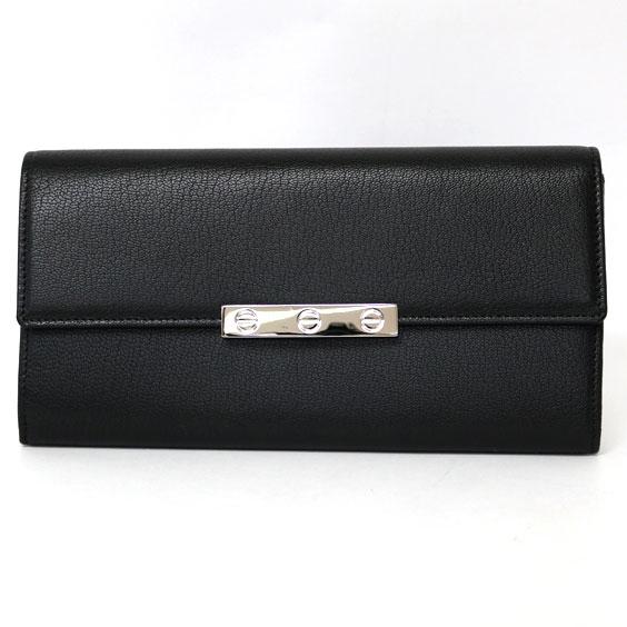 【送料無料】【中古】Cartier LOVE ラヴ 長財布 ブラック L3001375おしゃれ レディース 女性 specialprice