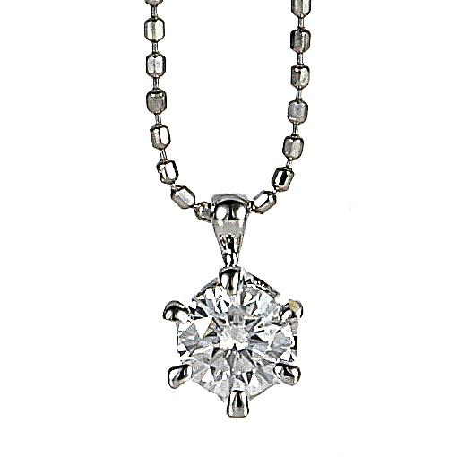 【送料無料】【新品】K18WG SIクラス 0.2ct ダイヤモンド ペンダント ネックレス 18金 ホワイトゴールドおしゃれ レディース 女性 かわいい 大人 可愛い オシャレ アクセサリー 一粒 シンプル 華奢 プレゼント ギフト ダイヤ