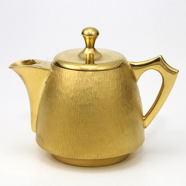 【送料無料】【中古】K24 純金製 ミルクポット 小物 三代目光一作 191.1g 24金 黄金展