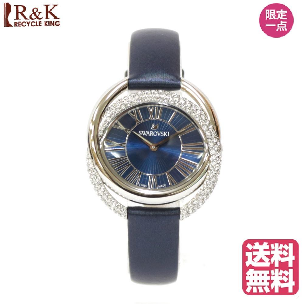 【送料無料】【新品】 SWAROVSKI スワロフスキー SS 腕時計 DUO デュオ ステンレススチール 5484376 ブルー レディース メンズ おしゃれ かわいい ギフト プレゼント【SH】