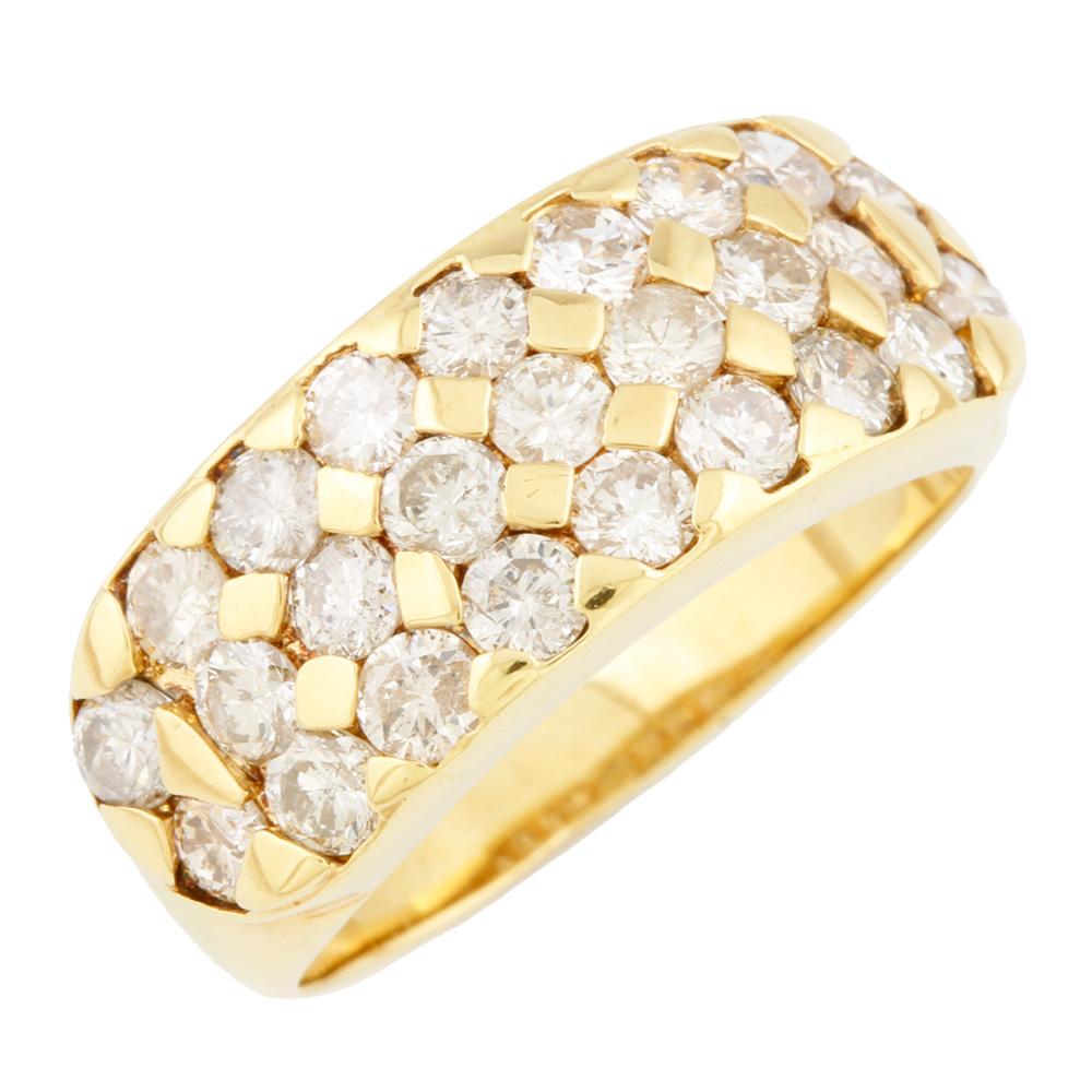 ジュエリー リング ふるさと割 指輪 激安価格と即納で通信販売 送料無料 中古 K18 ダイヤモンド D1.85 12.5号 メンズ ギフト 18金 かわいい K18ゴールド プレゼント おしゃれ レディース
