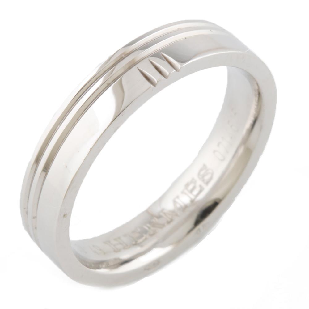 【送料無料】【中古】 HERMES エルメス K18WG リング 指輪 アリアンス ケリー #49 9号 18金 K18ホワイトゴールド レディース メンズ おしゃれ かわいい ギフト プレゼント