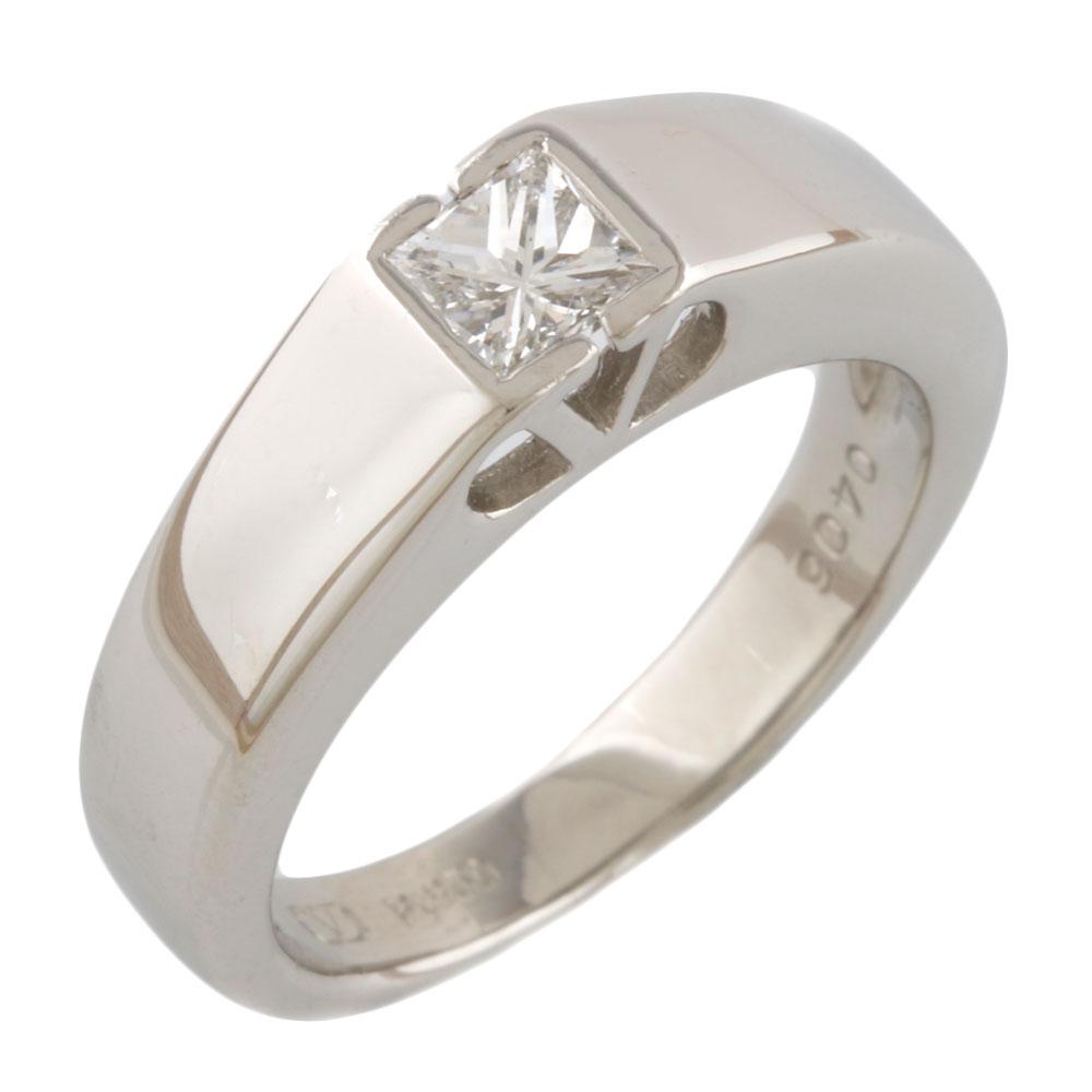 【送料無料】【中古】 VALENTINO ヴァレンティノ Pt950 リング 指輪 10.5号 ダイヤモンド 0.406ct ルビー Pt950プラチナ レディース おしゃれ かわいい ギフト プレゼント