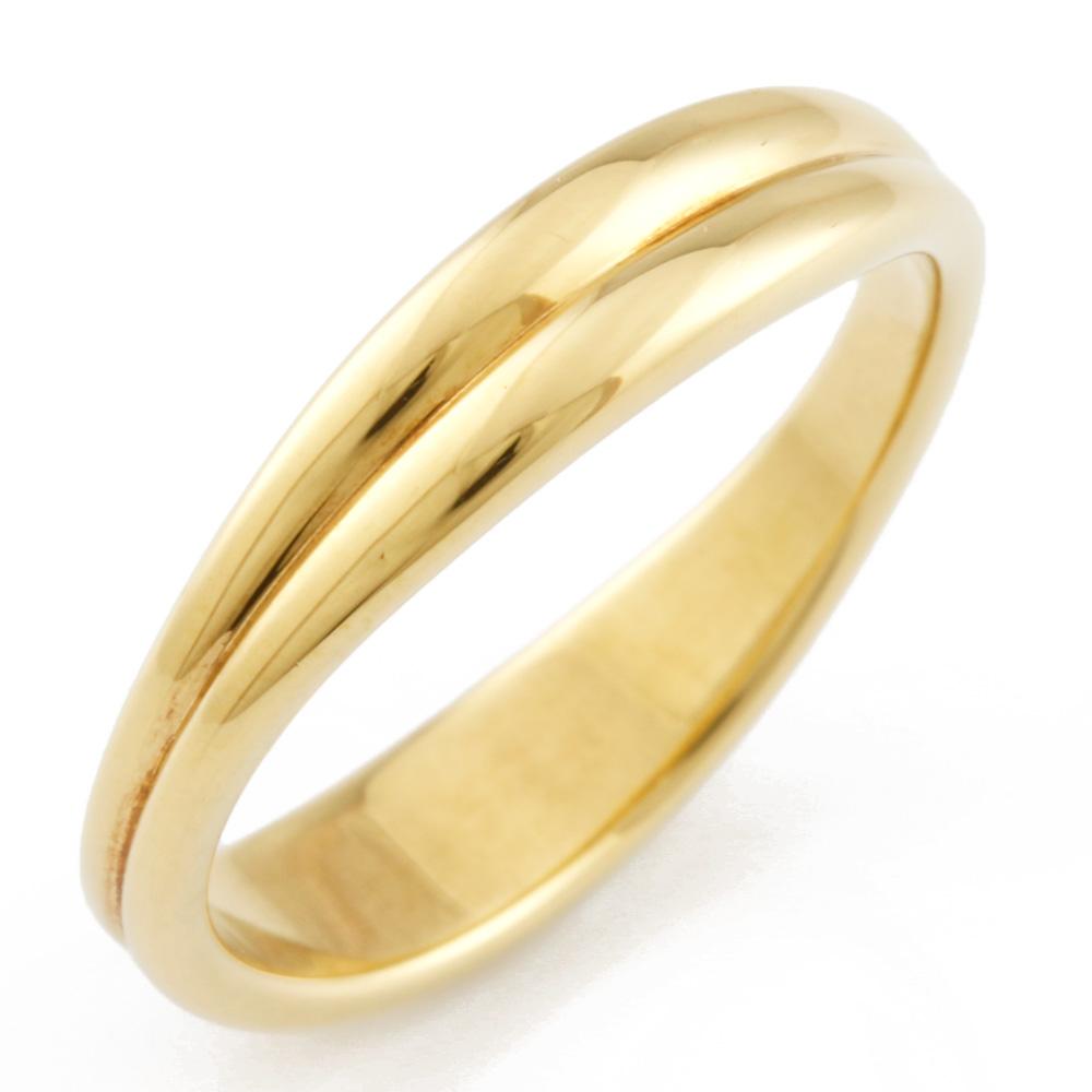 【送料無料】【中古】 TIFFANY&Co. ティファニー K18 リング 指輪 8号 18金 K18ゴールド レディース メンズ おしゃれ かわいい ギフト プレゼント