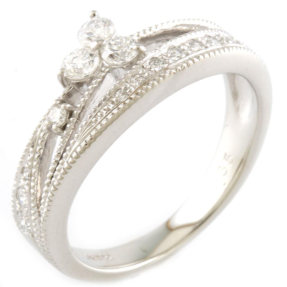 ジュエリー リング 指輪 送料無料 中古 Pt900 ダイヤモンド D0.35 11号 プレゼント レディース Pt900プラチナ シルバー かわいい おすすめ SH おしゃれ ギフト 超定番 オンライン限定商品