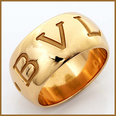 【送料無料】【中古】K18PG リング 指輪 BVLGARI 12号 #53 18金ピンクゴールド【BJ】 おしゃれ レディース 女性 かわいい 可愛い オシャレ ブルガリ モノロゴ シンプル sharel 価格見直し3005