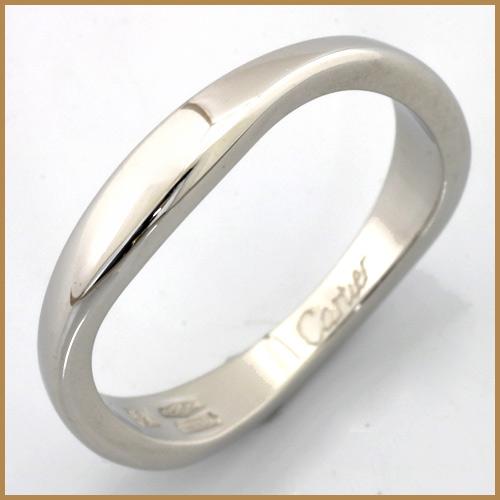 【送料無料】【中古】K18WG リング 指輪 Cartier #49 ラブミーリング 18金 ホワイトゴールド【BJ】可愛い カワイイ かわいい オシャレ おしゃれ レディース 女性 カルティエ シンプル アクセ アクセサリー 価格見直し0711