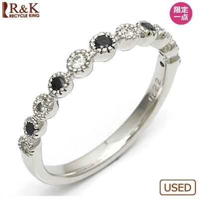 【送料無料】【中古】●K18WG ダイヤモンドリング 指輪 D0.22 18金ホワイトゴールド おしゃれ レディース 女性 かわいい 可愛い オシャレ 価格見直し0711