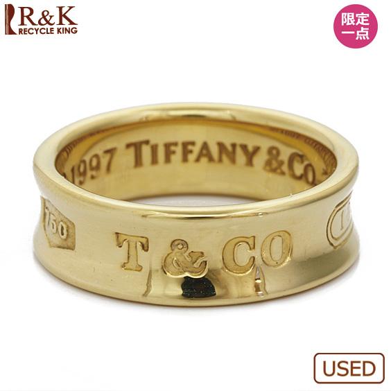 【中古】【送料無料】TIFFANY&Co. 1837リング 指輪 K18 11.5号 18金 ゴールド 18K ティファニー レディース 女性 おしゃれ 可愛い アクセサリー プレゼント 【BJ】 sharel 価格見直し3005