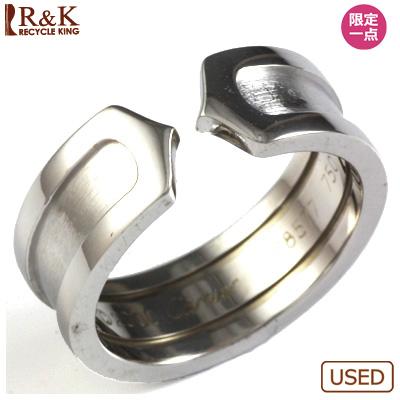【送料無料】【中古】K18WG リング 指輪 Cartier 9.5号 #49 18金ホワイトゴールド【BJ】 おしゃれ レディース 女性 かわいい 可愛い オシャレ 価格見直し3005