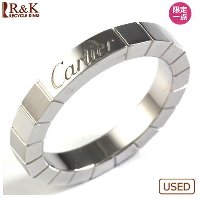 【送料無料】【中古】K18WG リング 指輪 Cartier 9号 #49 18金ホワイトゴールド【BJ】 おしゃれ レディース 女性 かわいい 可愛い オシャレ 価格見直し0711
