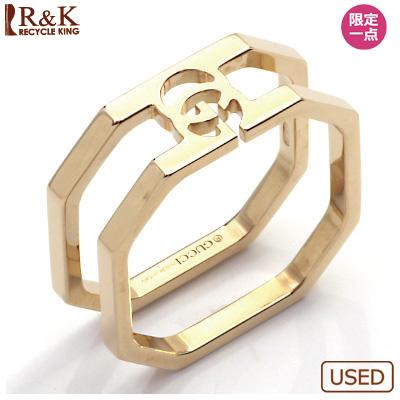 【送料無料】【中古】K18PG リング 指輪 GUCCI 10.5号 #11 ピンクゴールド【BJ】 おしゃれ レディース 女性 かわいい 可愛い オシャレ グッチ sharel 価格見直し3005