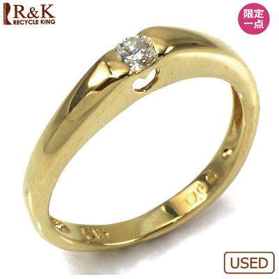 【送料無料】【中古】●K18 ダイヤピンキーリング 指輪 D0.06 ハート 18金 ファランジリング おしゃれ レディース 女性 かわいい 可愛い オシャレ 価格見直し3005