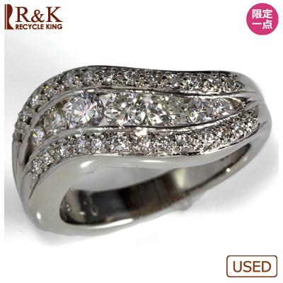 【送料無料】【中古】◎PT900 ダイヤモンドリング 指輪 D0.78 おしゃれ レディース 女性 かわいい 可愛い オシャレ 価格見直し0711