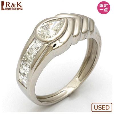 【送料無料】【中古】◎PT900 ダイヤモンドピンキーリング 指輪 D0.29 プラチナ ファランジリング おしゃれ レディース 女性 かわいい 可愛い オシャレ 価格見直し3005