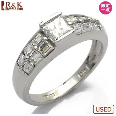 【送料無料】【中古】◎PT900 ダイヤモンドリング 指輪 D1.00 プラチナ おしゃれ レディース 女性 かわいい 可愛い オシャレ 価格見直し3005