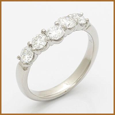 【送料無料】【中古】◎PT900 ダイヤモンドリング 指輪 D1.03 プラチナ おしゃれ レディース 女性 かわいい 可愛い オシャレ 価格見直し3005