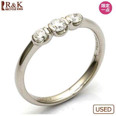 【送料無料】【中古】◎PT900 ダイヤモンドリング 指輪 D0.31 プラチナ おしゃれ レディース 女性 かわいい 可愛い オシャレ 価格見直し0711