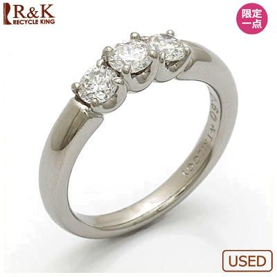 【送料無料】【中古】◎PT900 ダイヤモンドリング 指輪 D0.60 プラチナ おしゃれ レディース 女性 かわいい 可愛い オシャレ 価格見直し0711