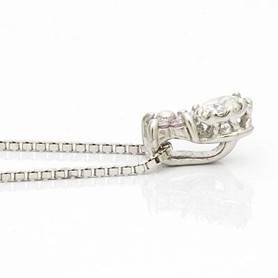 送料無料 ◎PT900 PT850 ダイヤモンド ネックレス D0 14 フラワー プラチナ おしゃれ レディース 女性 かわいい 可愛い オシャレ 0 1カラット シンプル アクセサリー アクセ ギフト プレゼント 価格見直し0711PwXZkiuTO
