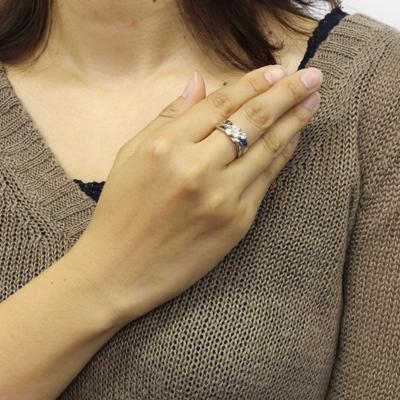 【送料無料】PT900ダイヤモンドリングD0.70
