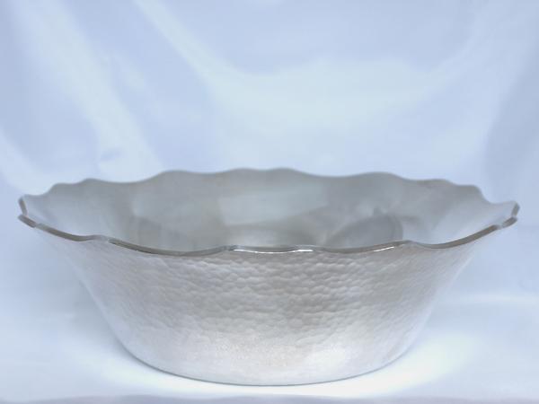 【送料無料】【中古】純銀 銀製フルーツボウル 銀器 シルバー SILVER