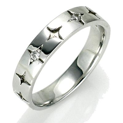 【送料無料】【新品】SV925 シャインスターペアリング 指輪 おしゃれ レディース シルバー 女性 かわいい | リング ペアリング シルバー925 ダイヤモンド ダイヤモンドリング ダイヤ ダイアモンドリング ペア レディースリング ジュエリー プレゼント 彼女 カップル お揃い