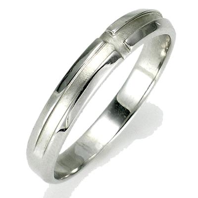 【送料無料】【新品】K10 K10WG K10PG ホーニングクロスペアリング 指輪 メンズ 10金 かわいい 可愛い オシャレ
