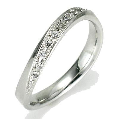 【送料無料】【新品】SV925 ウェーブラインペアリング 指輪 おしゃれ レディース シルバー おしゃれ レディース 女性 かわいい 可愛い オシャレ