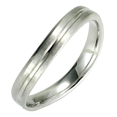 【送料無料】【新品】K10 K10WG K10PG ウエーブラインペアリング 指輪 メンズ 10金 かわいい 可愛い オシャレ