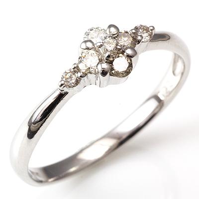 【送料無料】【新品】K18 K18WG K18PG ダイヤリング 指輪 18金 おしゃれ レディース 女性 かわいい 可愛い オシャレ