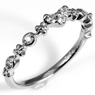 【送料無料】【新品】K10 K10PG K10WG ダイヤハートピンキーリング 指輪 10金 ファランジリング  おしゃれ レディース 女性 かわいい 可愛い オシャレ