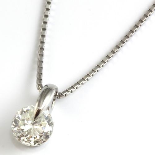 【送料無料】【新品】PT900/PT850 ダイヤモンドペンダントネックレス 0.5ct プラチナ おしゃれ レディース 女性 かわいい 可愛い オシャレ