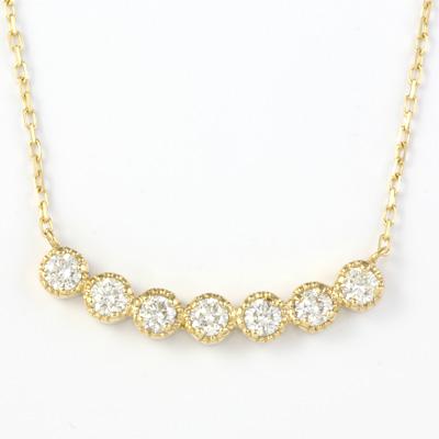 【送料無料】【新品】K10 ダイヤモンドネックレス D0.3ct 10金 K18 おしゃれ レディース 女性 かわいい 可愛い オシャレ