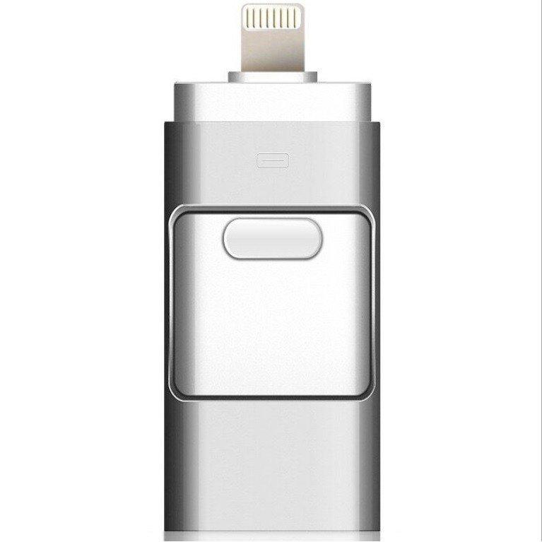iPhoneの容量不足解消におすすめ 土日限定ポイント10倍 iPhone USBメモリ 32GB フラッシュドライブ OTGメモリー スピード対応 全国送料無料 スライド式 容量不足解消 lighting データ転送 Android USB3.0 正規認証品!新規格 3in1 PC iOS