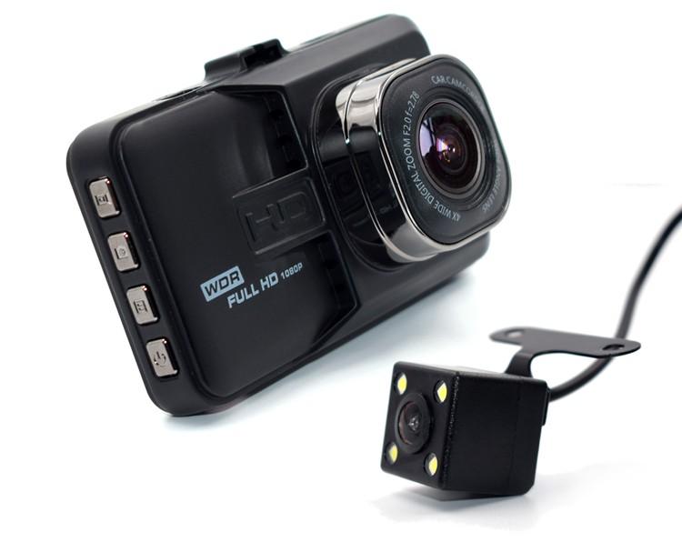 前方と後方を同時に録画!バックカメラも搭載した高画質で常時録画で低価格のドライブレコーダーを販売中。激安のドラレコをどうぞ。 【30日限定P10倍】進化版 ドライブレコーダー 前後 Wカメラ搭載 送料無料 IPS液晶 フルHD 高画質 1080P 120度 Gセンサー 日本語説明書