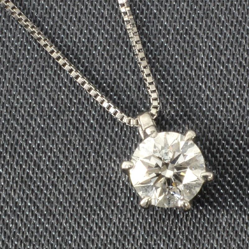 ダイヤモンド ペンダントネックレス (0.5ct) ダイヤ ペンダント ネックレス プレゼント ギフトに!