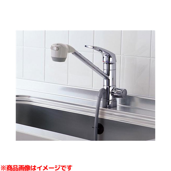 【TKG38BS】 《TKF》 TOTO 元止め式台付シングル混合水栓(浄水器用、吐水切替) ωγ0