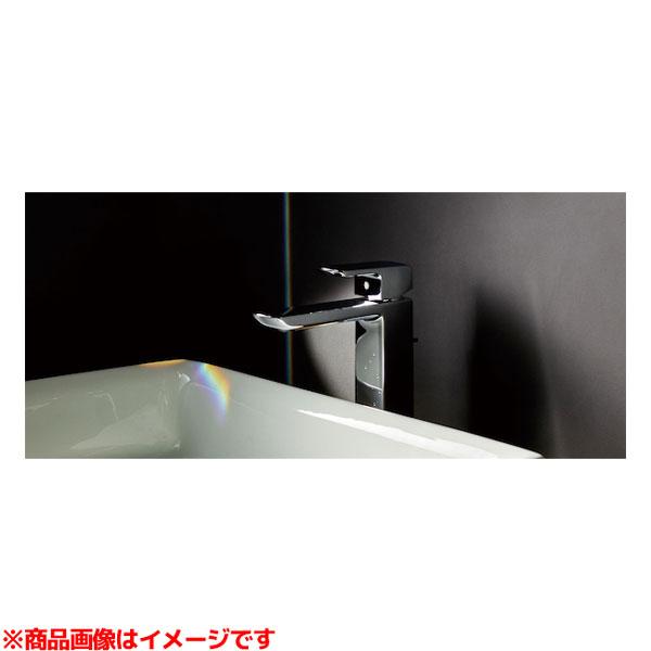 【TLCF31ELR】 《TKF》 TOTO 台付シングル混合水栓(エコシングル、ワンプッシュ、平型、共用) コンテンポラリ ωγ0