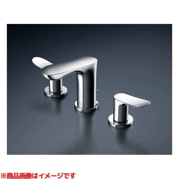 【TLG01201J】 《TKF》 TOTO 台付2ハンドル混合水栓(埋込、泡まつ、ワンプッシュ、共用) ωγ0