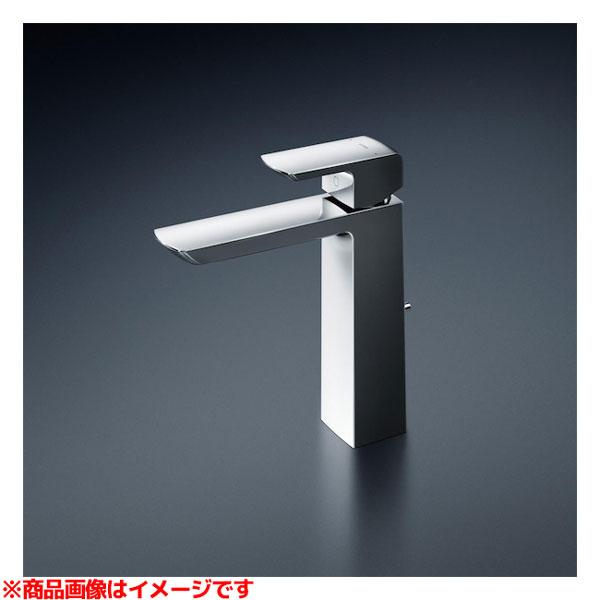 【TLG02305JA】 《TKF》 TOTO 台付シングル混合水栓(エコシングル、ワンプッシュ、共用) ωγ0
