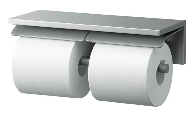 【YH700AD】 《TKF》 TOTO ペーパーホルダー 棚付二連紙巻器 アルミ製 ωγ0