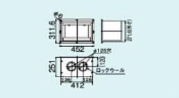 【FFTL-DKC-10】 《TKF》 リンナイ 給排気筒トップ断熱化粧カバー ωα0